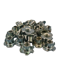 "6 Prong T-Nut 3/8"" - 1 ct."