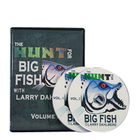Hunt for Big Fish with Larry Dahlberg - DVD Vol 1 mold making rubber, rubber silicones, molds, molding, tin base silicone mold, quickset, mold making, silicone mold making, tin base silicone, piece molds, 3 silicone mold, casting, pressure casting, spin casting, molding, high temperature resistant mold, alumilite, hunt for big fish, Larry Dahlberg
